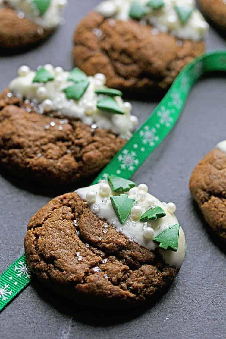 White Chocolate Ginger Cookies 2 - White Chocolate Ginger Cookies Recipe