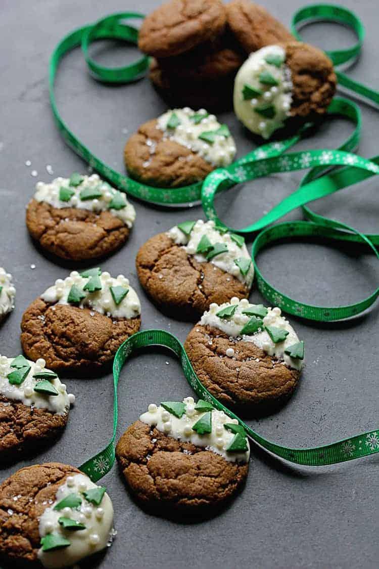White Chocolate Ginger Cookies 4 - White Chocolate Ginger Cookies Recipe
