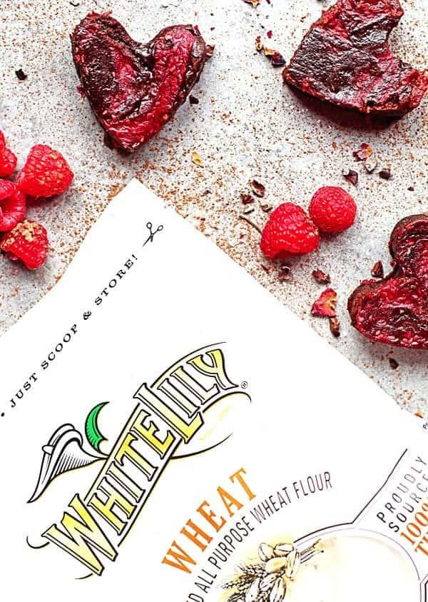 Heart Shaped Raspberry Brownies Recipe | Grandbaby Cakes