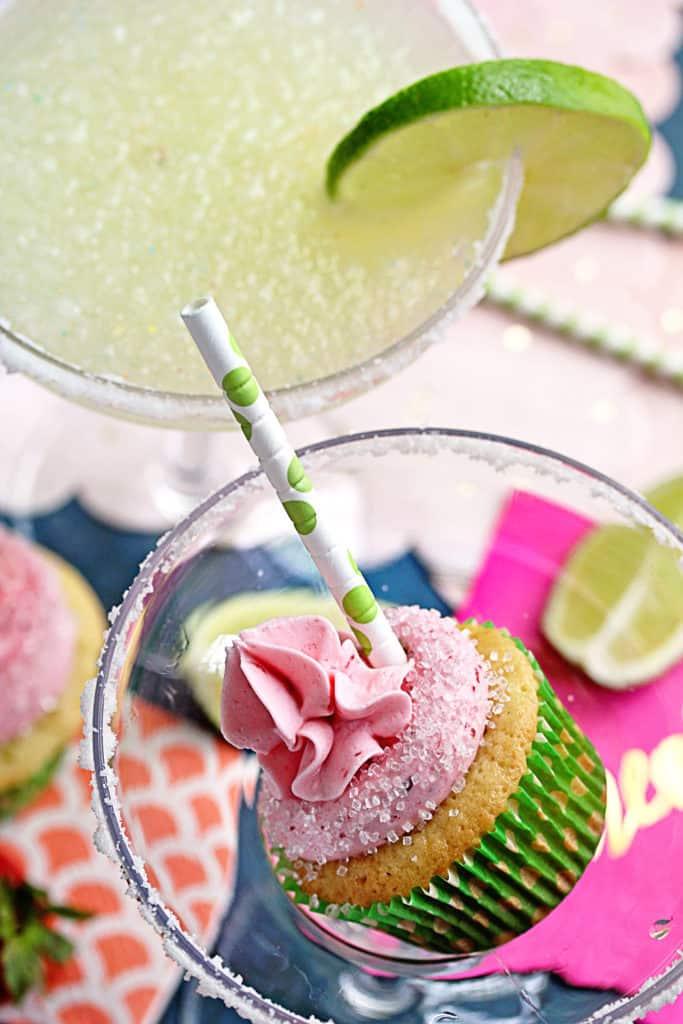 Berry Margarita Cupcakes 2 683x1024 - Berry Margarita Cupcakes Recipe