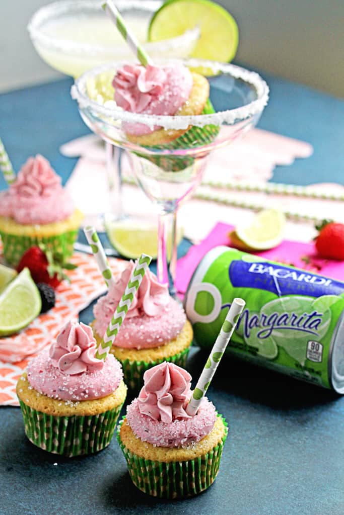 Berry Margarita Cupcakes 4 683x1024 - Berry Margarita Cupcakes Recipe