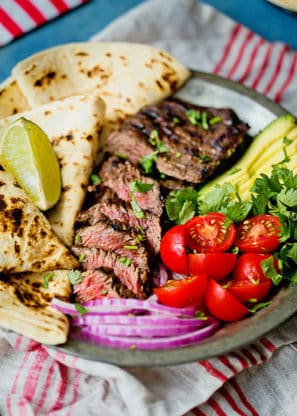 How to Make Carne Asada Recipe- Grilling Carne Asada couldn't be easier. Start with our carne asada marinade which adds wonderful Mexican flavors galore. This delicious skirt steak is so ready for your summertime grill!