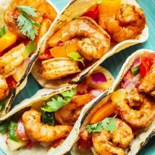 Jerk Shrimp 320x320 - Jerk Shrimp Tacos