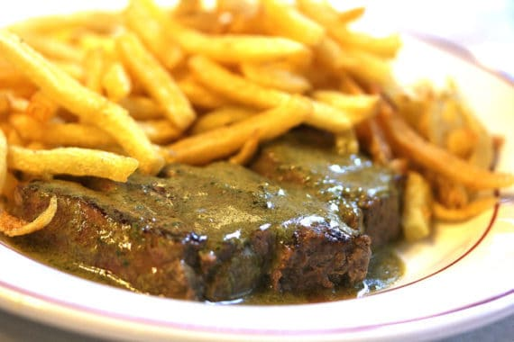 Steak and Frites 4 570x380 - Where to Eat In Paris: Savory Edition