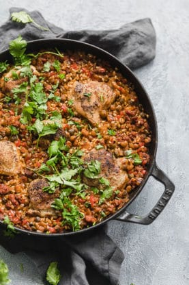 Spanish Chicken and Rice 2 277x416 - Spanish Chicken and Rice (With How To Video!)