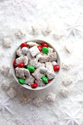 Eggnog Muddy Buddies 1 277x416 - Eggnog Muddy Buddies