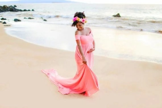Maui Maternity Photographers 3 570x380 - 32 Weeks! A BabyCakes Update