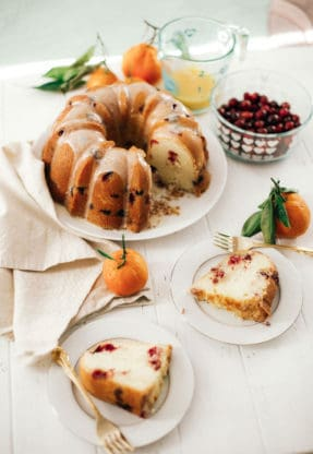 Pyrex Cranberry Orange Pound Cake 13 287x416 - Cranberry Orange Cake Recipe