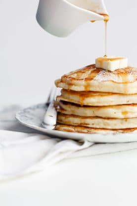 lemon ricotta pancakes 2web 277x416 - Lemon Ricotta Pancakes Recipe (Fluffy & Delish!)