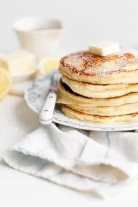lemon ricotta pancakes 5web 277x416 - Lemon Ricotta Pancakes Recipe (Fluffy & Delish!)