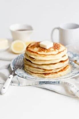 lemon ricotta pancakes 6web 277x416 - Lemon Ricotta Pancakes Recipe (Fluffy & Delish!)
