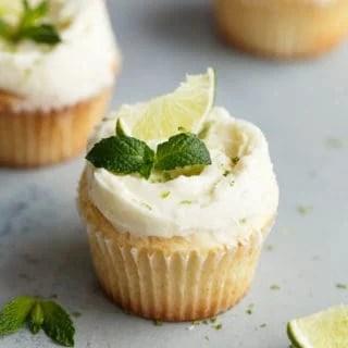Fluffy Lemon Cupcakes Recipe with Mojito Frosting   Grandbaby Cakes