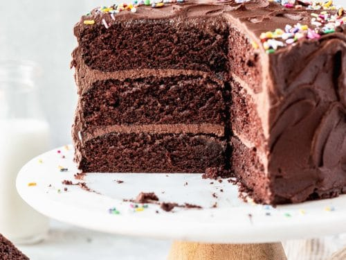 The Best Chocolate Birthday Cake Recipe With Chocolate Frosting
