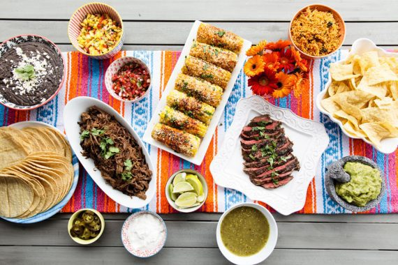 Whether you are looking for fun summer entertaining or ideas for a Taco Tuesday party, I'll show you how to throw a perfect Mexican fiesta with a flavorful taco bar sure to wow your guests! Cinco De Mayo #taco #mexican #cincodemayo