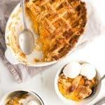 Labor Day Recipes - Southern Peach Cobbler Recipe (How to Make Peach Cobbler)