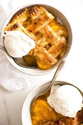 PeachCobbler updated4 278x416 - Southern Peach Cobbler Recipe (How to Make Peach Cobbler)