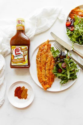 pineapple honey bourbon grilled catfish recipe 4 277x416 - Pineapple Honey Bourbon Grilled Catfish Recipe
