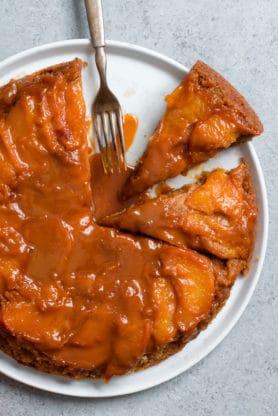 Caramel Peach Dump Cake 2 278x416 - Caramel Peach Dump Cake Recipe