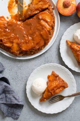 Caramel Peach Dump Cake recipe 3 278x416 - Caramel Peach Dump Cake Recipe