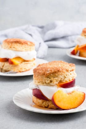 Peach Shortcake Recipe 1 278x416 - Brown Sugar Peach Shortcake Recipe