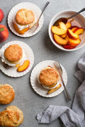 Peach Shortcake Recipe 2 278x416 - Brown Sugar Peach Shortcake Recipe