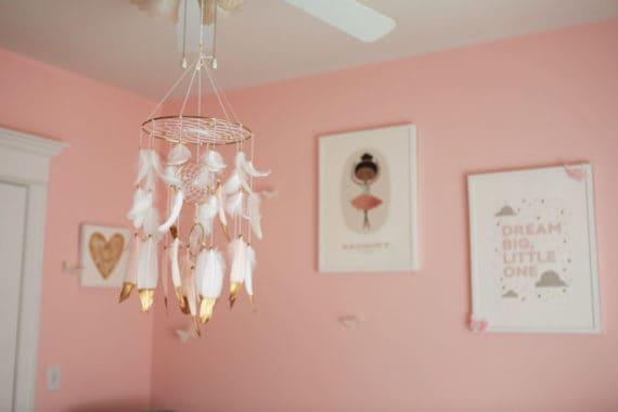 baby girl nursery design 3 570x380 - Baby Cakes' Baby Girl Nursery Design