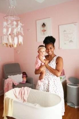 baby girl nursery design 6 277x416 - Baby Cakes' Baby Girl Nursery Design