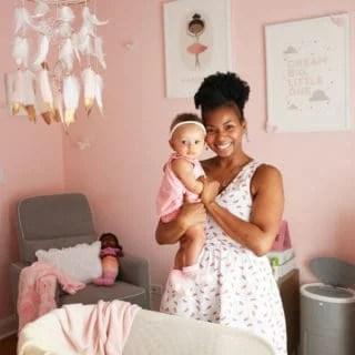 Baby Girl Nursery Design | Grandbaby Cakes
