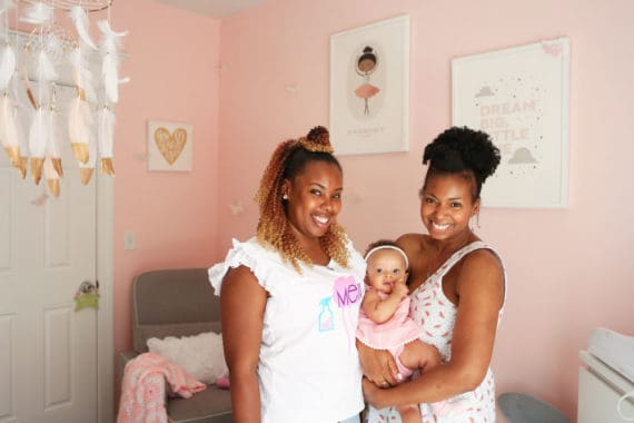 baby girl nursery design 9 570x380 - Baby Cakes' Baby Girl Nursery Design