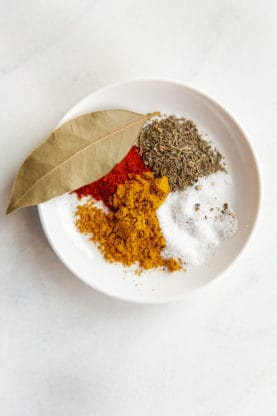 African Rice spices for How to Make Jollof Rice Recipe