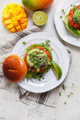 Mango Jerk Salmon Burger 1 277x416 - Mango Jerk Salmon Burgers Recipe