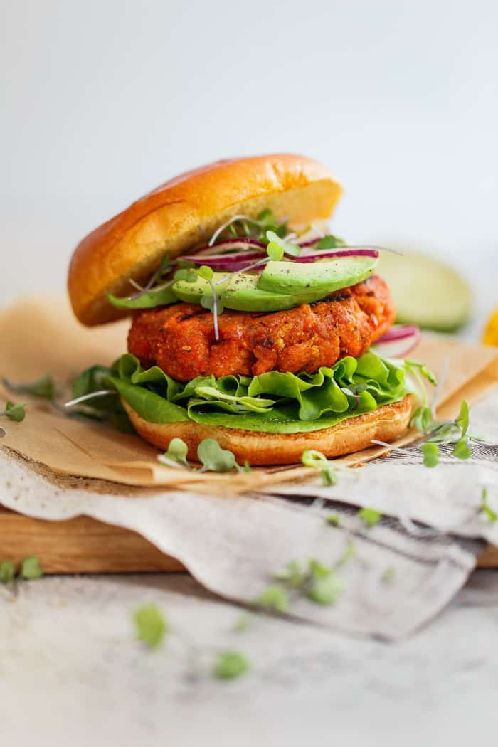 Mango Jerk Salmon Burger 6 - The Ultimate Meal Prep and Pantry Stock List for Quarantine