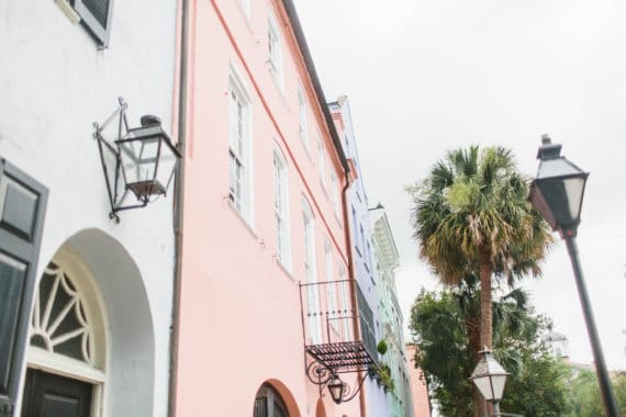 Rainbow Row Best Charleston Restaurants 1 570x380 - Charleston Restaurants (Best Restaurants in Charleston SC)