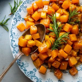 Mango Roasted Butternut Squash Recipe | Grandbaby Cakes