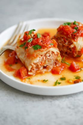Stuffed Cabbage Rolls Recipe 6 277x416 - The MOST Insanely Delicious Stuffed Cabbage Rolls Recipe!