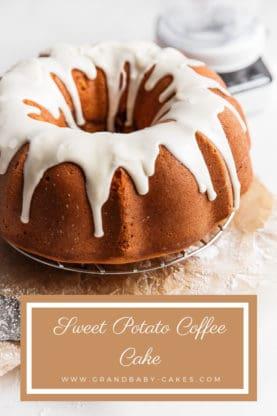 Sweet Potato Coffee Cake Recipe | Grandbaby Cakes