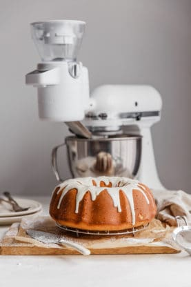 sweet potato coffee cake low2 277x416 - Sweet Potato Sour Cream Coffee Cake Recipe (Video!)