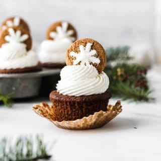 Gingerbread Cupcakes Recipe 2 320x320 - Perfect Gingerbread Cupcakes Recipe