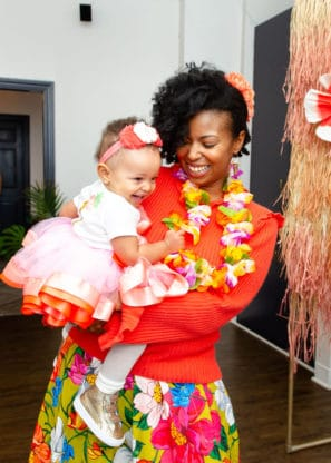 1231253 297x416 - First Birthday Party Ideas - Hawaiian Luau