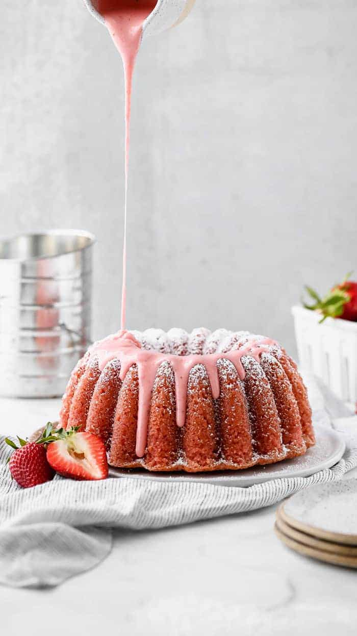 Fresh Strawberry Pound Cake 5 - The Ultimate Easter Menu!