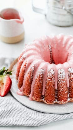 Fresh Strawberry Pound Cake 7 234x416 - Fresh Strawberry Pound Cake Recipe