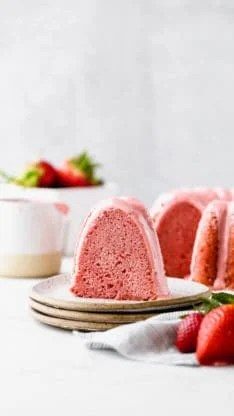 Fresh Strawberry Pound Cake 8 234x416 - Fresh Strawberry Pound Cake Recipe