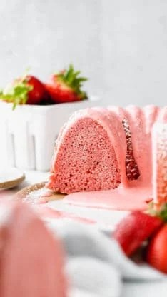 Fresh Strawberry Pound Cake 9 234x416 - Fresh Strawberry Pound Cake Recipe