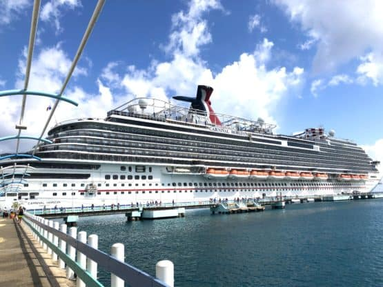 Full photo of Carnival Horizon Cruise Ship 555x416 - Cruising with a Toddler