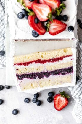 Bery Icebox Cake 7 277x416 - 20+ BEST Labor Day Recipes to Make Your Holiday a Hit!!