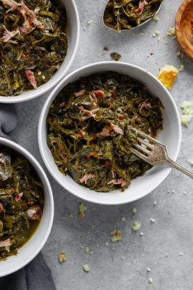 Collard Greens Recipe again 277x416 - Southern Collard Greens Recipe (Just like your Grandma's recipe!)