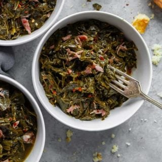 Collard Greens Recipe again 320x320 - Southern Collard Greens Recipe (Just like your Grandma's recipe!)