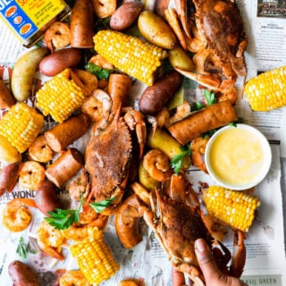 Frogmore Stew Low Country Recipe 1 e1564326197571 320x320 - The BEST Authentic Frogmore Stew (Low Country Boil Recipe)