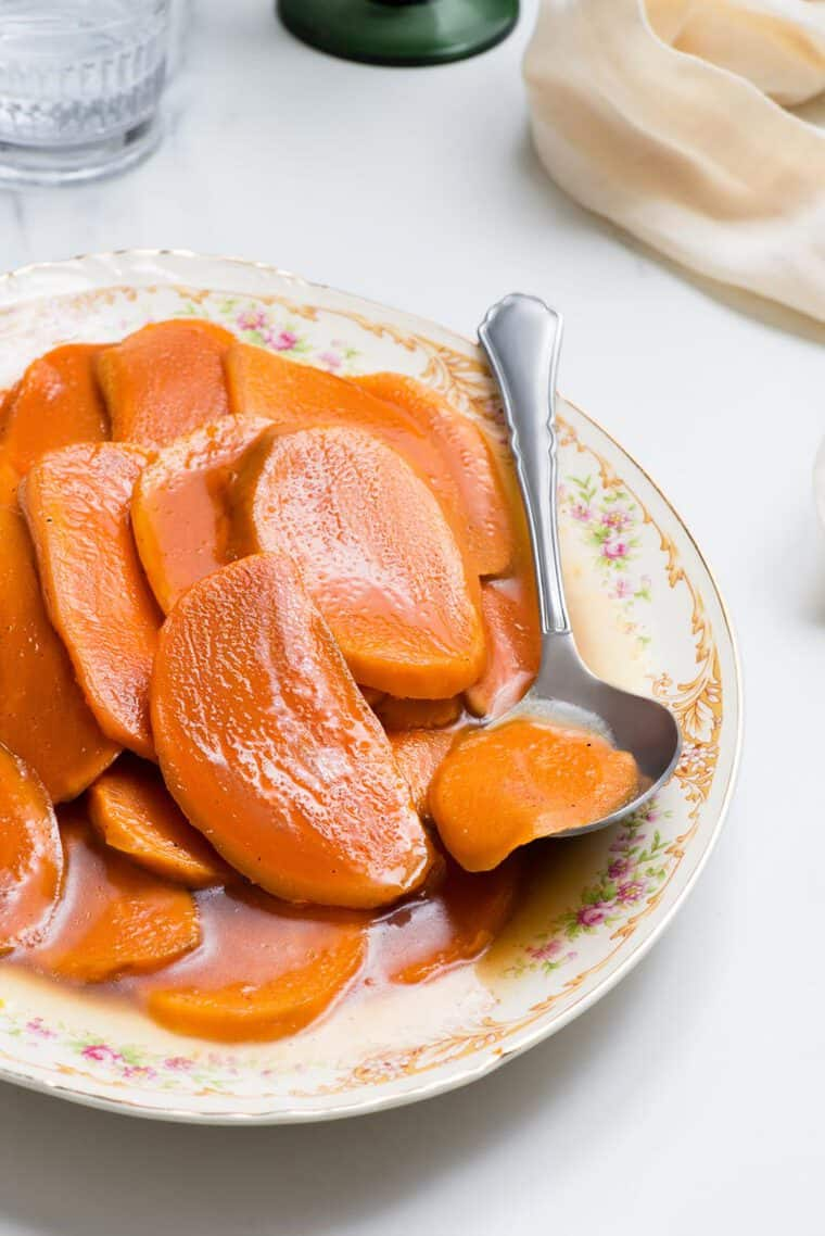 Candied Sweet Potatoes Recipe 2 - Candied Sweet Potatoes Recipe (Mom's Recipe!)