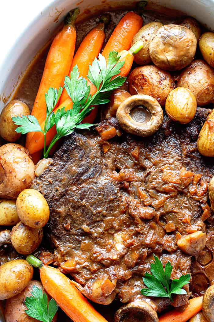 Pot Roast Recipe 4 - The MOST Tender and Flavorful Classic Pot Roast Recipe Ever!